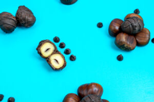 Chocolate Covered Roasted Chestnuts