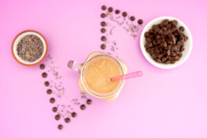 Stress Busting Chocolate Lavender Smoothie