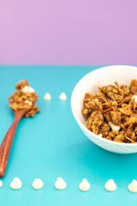 White Chocolate Grain Free Granola