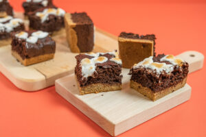 S™Mores Brownie Bars