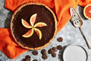 Maple-Orange Chocolate Tart