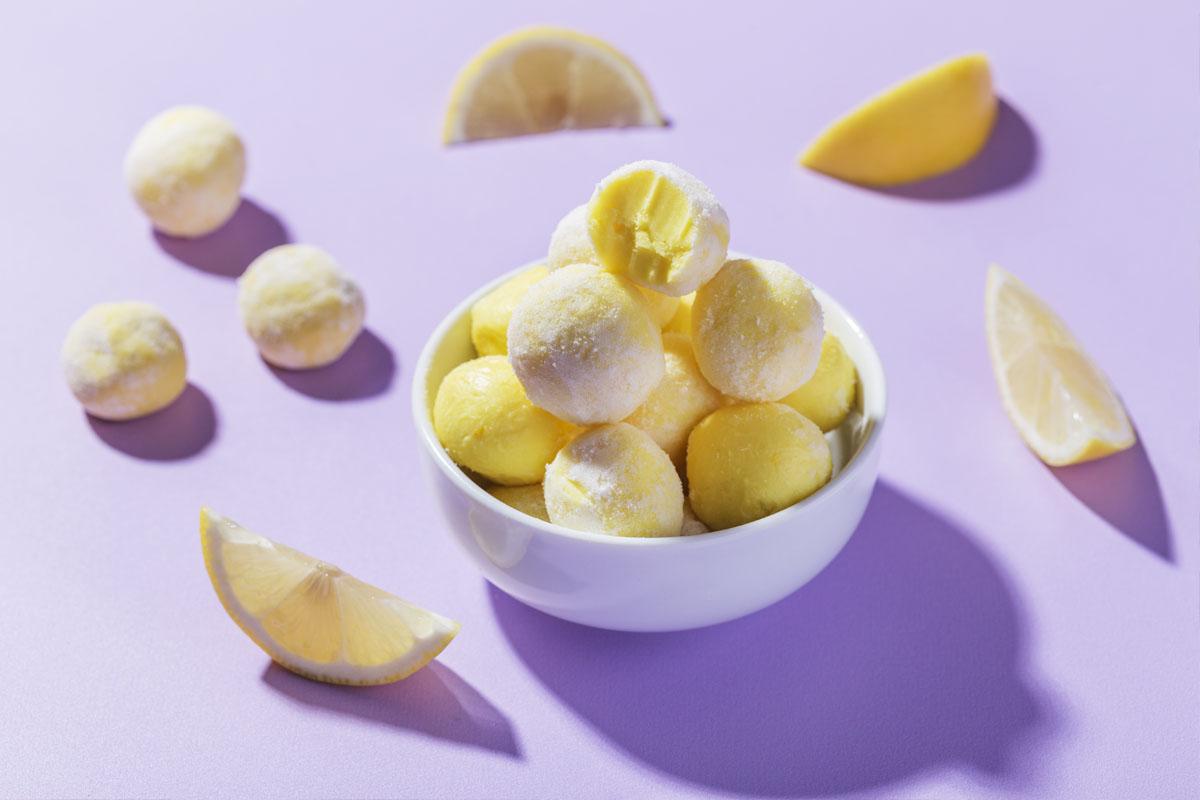 White Chocolate-Lemon Truffles