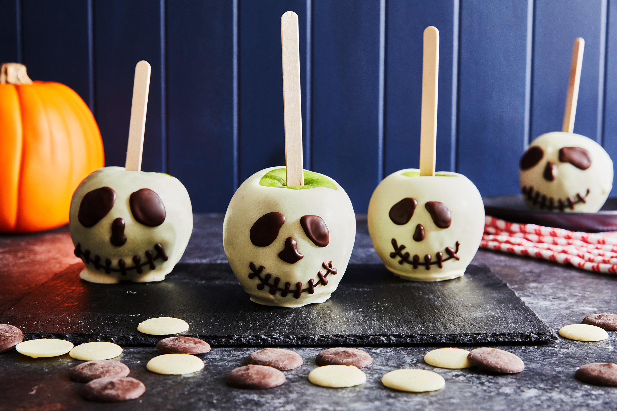 Candy Apple Skeletons